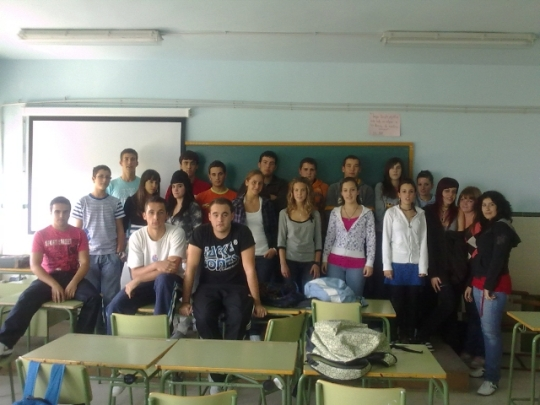 Alumnos de 2º de Bachillerato